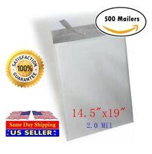 500 #7 14.5X19 Poly Mailer Self Sealing Shipping  Waterproof  Mailing Bags