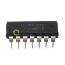 2PCS ICL8038 ICL8038CCPD INTERSIL IC OSCILL GEN/VOLT CONTROL 14DIP NEW
