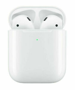 Apple AirPods 2nd Generation with Wireless Charging Case - White - No Box