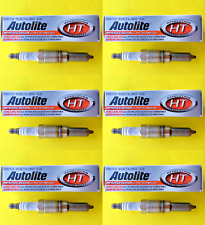 New SET OF 6 Autolite Platinum Spark Plugs for Ford - Mercury - Avanti Vehicles