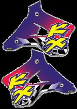 Rad calcomanías (96) Pegatinas de gráficos KX 125 250 1994 a 1998 KX125 KX250