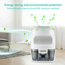 600ML Dehumidifier & Air Purifier Electric Air Dryer, Auto-Off Function for Home