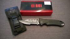 RUI Tactical Messer Taschenmesser Klappmesser 440er Klinge Titanium - NEU 19013