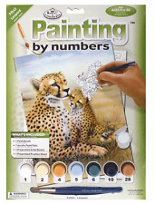 Royal & Langnickel Painting by Numbers - Leopards - BNIB