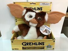 NECA Gizmo Gremlins Singing Dancing Plush Doll with sound.  NEW