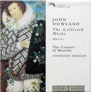 JOHN DOWLAND COLLECTED WORKS CD SET CD set (4525632) UK L'OISEAU-LYRE 2007