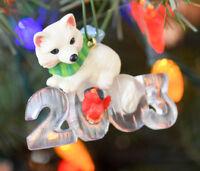 Hallmark - Cool Decade 2003 - Cat - 4th in Series - Keepsake Ornament