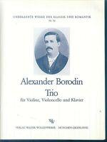 Alexander Borodin - Trio für Klavier, Violine und Violoncello
