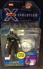 X-MEN EVOLUTION STORM ACTION FIGURE W/ SPINNING CLOUD BASE DISNEY WOLVERINE J19