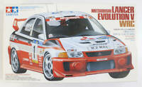 TAMIYA 24203 24257 MITSUBISHI LANCER EVOLUTION  V & VII WRC plastic kits 1:24th