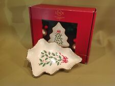 Lenox Holiday Tree Dish In Original Box