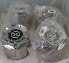 American Racing ATX Wheels Chrome Custom Wheel Center Cap Caps Set 4 #1500100911