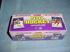 1991 Score Hockey Complete Factory Set sealed 440 cards