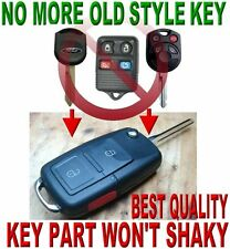 FLIP KEY REMOTE FORD EDGE ESCAPE 80BIT 3BUTTONS CHIP KEYLESS ENTRY BEEPER FOB