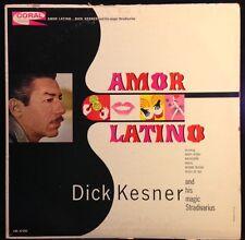 Dick Kesner And His Magic Stradivarius - Amor Latino - VG+ Vinyl LP 1962