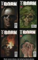 Born 1 2 3 4 Marvel 2003 Complete Set Run Lot 1-4 VF/NM