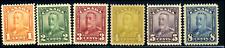 Canada #149-154 mint F/VF OG 1928-1929 King George V Scroll Issue Part Set