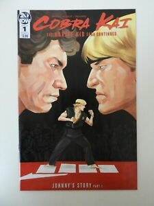 🔥Cobra Kai The Karate Kid Saga Continues #1 NM+🔥Hot!! Netflix!! SOLD OUT!🔥