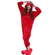 Hot Unisex Adult Pajamas Kigurumi Cosplay Costume Animal Sleepwear onesie1
