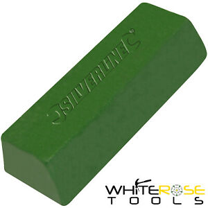 Silverline Green Polishing Compound 500g Buffing Steel Copper Metal Iron