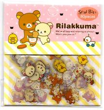 Sanx San-x Rilakkuma Sticker Sack stickers kawaii Pack flakes Japan Seal Bits B