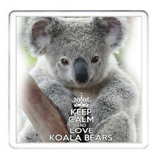 KOALA Orso Coaster corrispondenti KOALA TAZZA disponibili. Keep Calm and Love ORSETTI KOALA