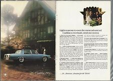 1980 CADILLAC Fleetwood Brougham 2-page advertisement, Cadillac FLEETWOOD ad