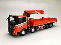 1/43 SANY PALFINGER SPS30000 Integrated Loader Crane Truck Diecast Model Toy