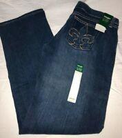 WRANGLER Women's IRREG Classic Blues Low Rise Straight Leg Denim Jeans WWCL08M