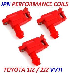 JPN PERFORMANCE COIL PACKS for 1JZ 2JZ VVTi SUPRA JZX100 CHASER LEXUS IS300 ARIS