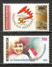 Indonesia - 1995 50 years independence - Mi. 1560-61 MNH