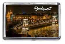 Budapest Famous City Fridge Magnet Collectable Design Danube Souvenir