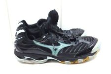 Mizuno Wave Lightning 6 Women Black Mesh Athletic Sneakers Lace Up Shoes 12 M 44