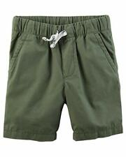 NEW Carter/'s Boys Gray Camo Print Shorts NWT 2 3 4 5 6 7 8 French Terry Summer
