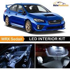 10x LED Xenon White Light Interior Package For 2013 - 2017 Subaru WRX Sedan Tool