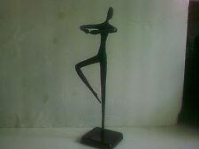 Bodrul Kahlique Black Bronze Dance Sculpture