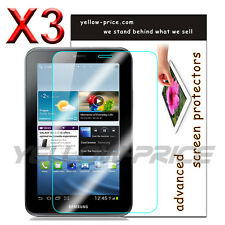 3 Pack LCD Clear Screen Protector for Samsung Galaxy Tab 2 7.0 P3110 P3113 P3100