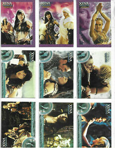 2001 Rittenhouse Xena Warrior Princess Season 6 Complete 72 Card Base Set