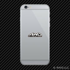 AWD Do It On All Fours Cell Phone Sticker Mobile Die Cut all wheel drive