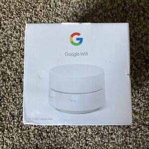 Google Wifi - Whole Home Wi-Fi System - 1-Pack - White GA02430-US - New & Sealed