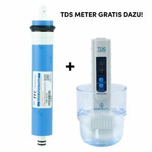 TFC MCM Membrane 75 GPD Wasserfilter Umkehrosmose NSF TW30-1812-75 RO