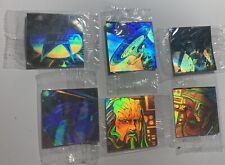Star Trek The Next Generation 1994 Set Of 6 Hologram Stickers Pictrix TNG