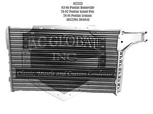 A/C Condenser 1978-1987 PONTIAC BONNEVILLLE GRAND AM LEMANS OEM 3041841 3037294
