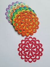 Flower Die Cut Outs ( Scrap Booking, Embellishments, Spring Decor etc )