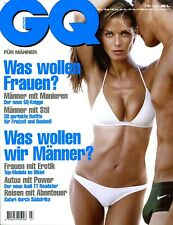 GQ deutsch 7/1999 (Heidi Klum, Costner, Beckham, Schuhmacher, Hilfiger, Audi TT)