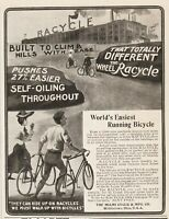 1904 Miami Cycle & Manufacturing Co Middletown Ohio factory Racycle Bicycle ad