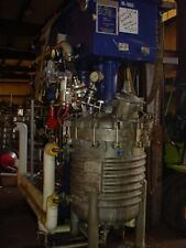 100 gallon Hockmeyer Dual Motion Jacketed Vacuum Disperser 40 Hp