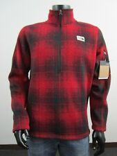 Nwt Mens Tnf The North Face Gordon Lyons 1/4 Zip Pullover Fleece Jacket Cardinal