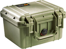 OD Green  Pelican ™1300 Case with foam includes FREE Custom Engraved Nameplate
