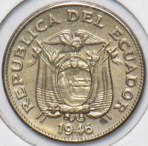 Ecuador 1946 5 Centavos 195197 combine shipping